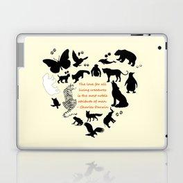 Love of the Animals Typography Laptop & iPad Skin