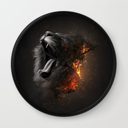 XTINCT x Lion Wall Clock