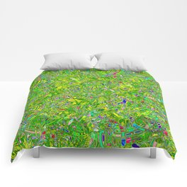 Abstract RR QQY Comforters