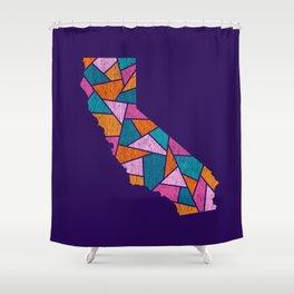 California Mosaic - Fun in the Sun Shower Curtain