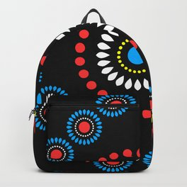 African Diamond (Red) Backpack