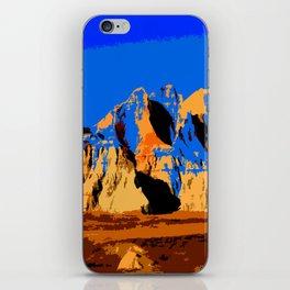 Visit Badlands Retro Postcard iPhone Skin
