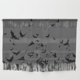 An Unkindness of Ravens (Grey) Wall Hanging