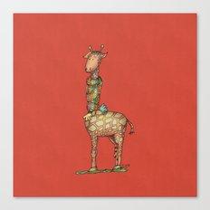 Cleo Giraffe Canvas Print