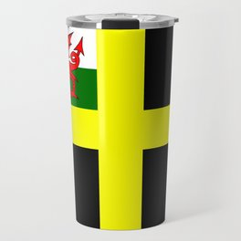 Flag of Saint David Travel Mug