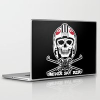 jedi Laptop & iPad Skins featuring Doomies Never Say Jedi by Ant Atomic