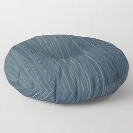 Deep Blue Boxcare Floor Pillow