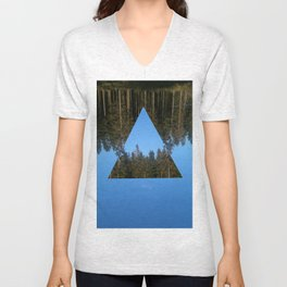 HIMLASKOGEN / WOODS IN THE SKY Unisex V-Neck