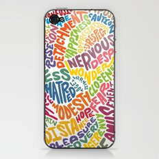 The inner workings of my mind! White! iPhone & iPod Skin