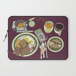 Breakfast, the Most Important Meal of the Day Laptop Sleeve