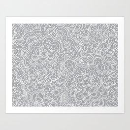 Paisleyesque Art Print
