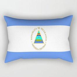 flag of nicaragua - Nicaraguans,Nicaragüense,Managua,Matagalpa,latine. Rectangular Pillow