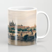 prague Mugs featuring Prague by maisie ong