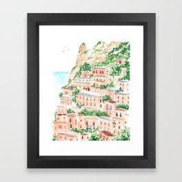 An Italian Shore Framed Art Print