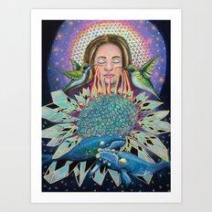 The Weavers Art Print