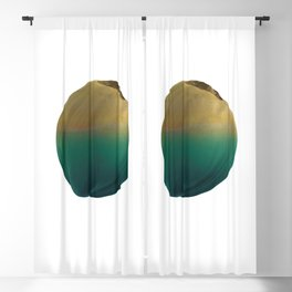 Sea Water Coconut Blackout Curtain