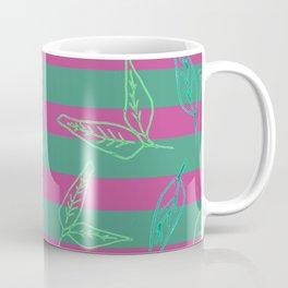 Leafy: Leaf+Stripe Coffee Mug