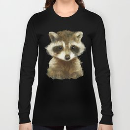 Little Raccoon Long Sleeve T-shirt