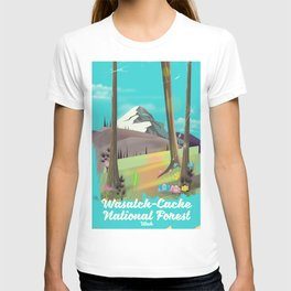 Wasatch-Cache National Forest Utah T-shirt