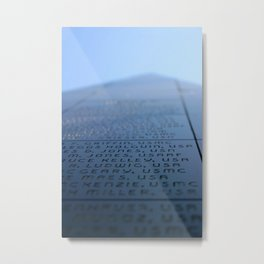 Oxnard Veterans Memorial Metal Print