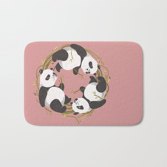 Panda dreams Bath Mat