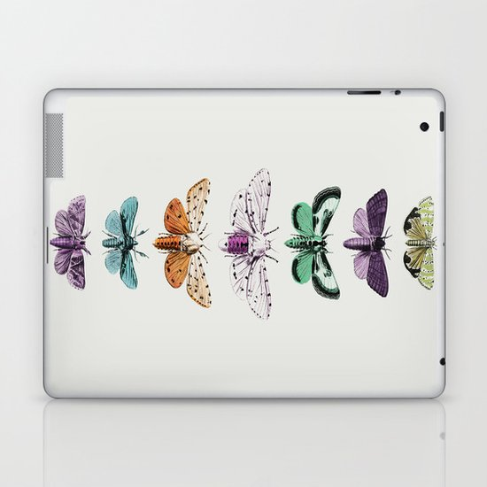 Techno-Moth Collection Laptop & iPad Skin