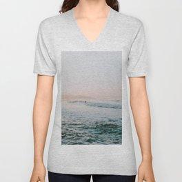 summer waves Unisex V-Neck