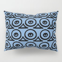 Geometric Texture Curve Pillow Sham