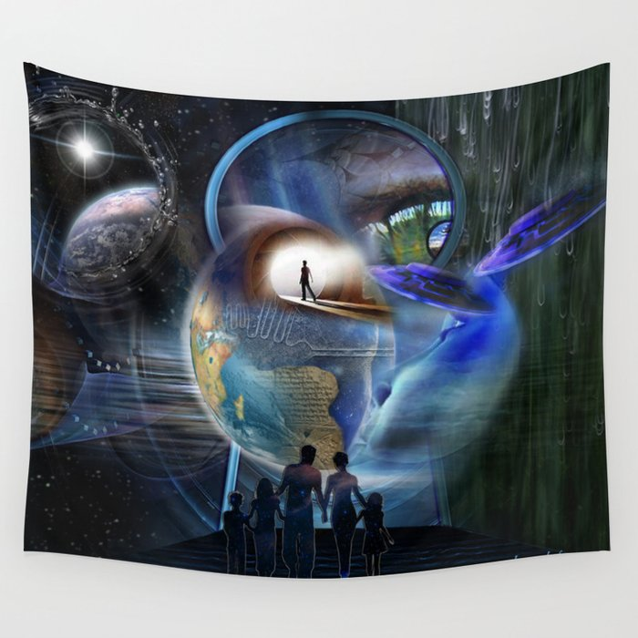 The Reality Shifters Wall Tapestry
