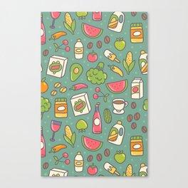 Shopping Canvas Print