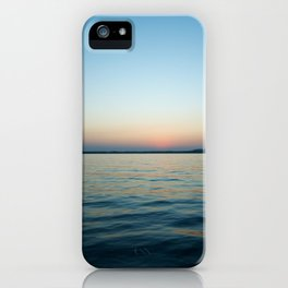 Subtle sunset iPhone Case