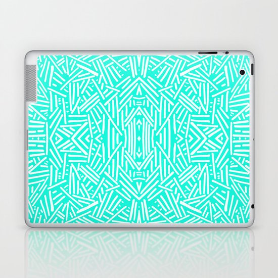 Radiate (Mint) Laptop & iPad Skin