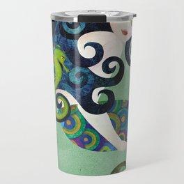 Aquamarine Mermaid Travel Mug