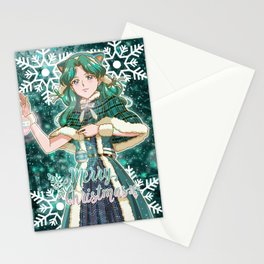 Merry Xmas Michiru! Stationery Cards
