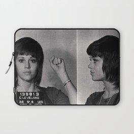 Jane Fonda Mugshot Laptop Sleeve