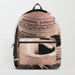 Mountain survey drawings Backpack