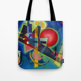 Wassily Kandinsky, New colors Tote Bag