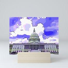 US Capitol Mini Art Print