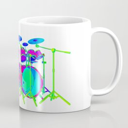 Colorful Drum Kit Coffee Mug