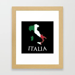 Italy-Italia Framed Art Print