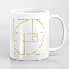 Golden Oval Mug