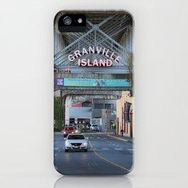 Granville Island 2 iPhone Case