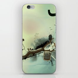 roma parco iPhone Skin