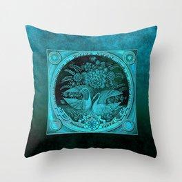 SwanCurios 03 Throw Pillow