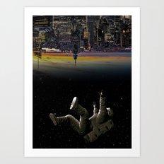 See you earth Art Print