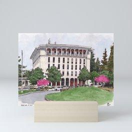 Mrak Hall UC Davis Mini Art Print