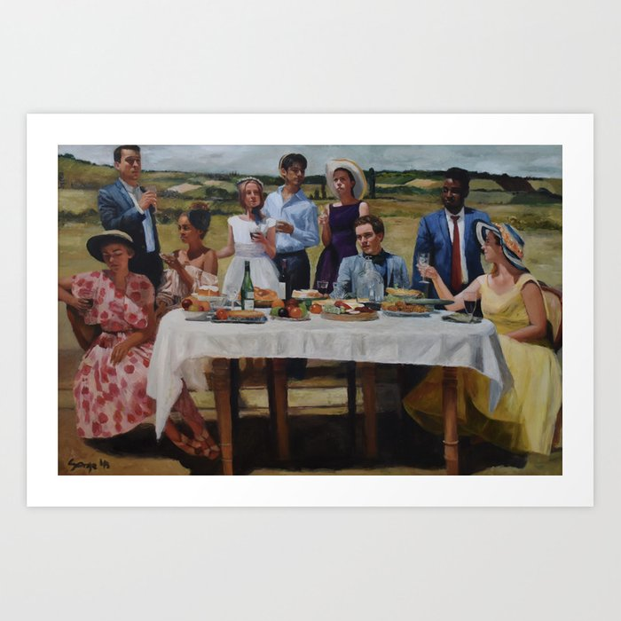 Friend's Table Kunstdrucke