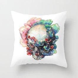 Trametes Versicolor Throw Pillow
