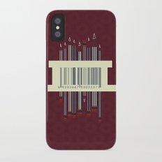 Pencils Slim Case iPhone X