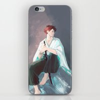 viria iPhone & iPod Skins featuring Noragami AU Oikawa by viria
